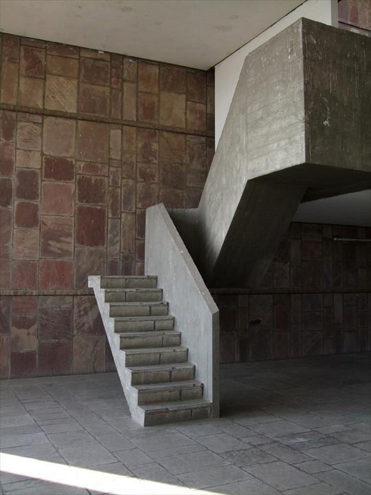 Ле Корбюзье / Le Corbusier. Здание Текстильной ассоциации (Mill Owners' Association Building), Ахмедабад, Индия. 1951