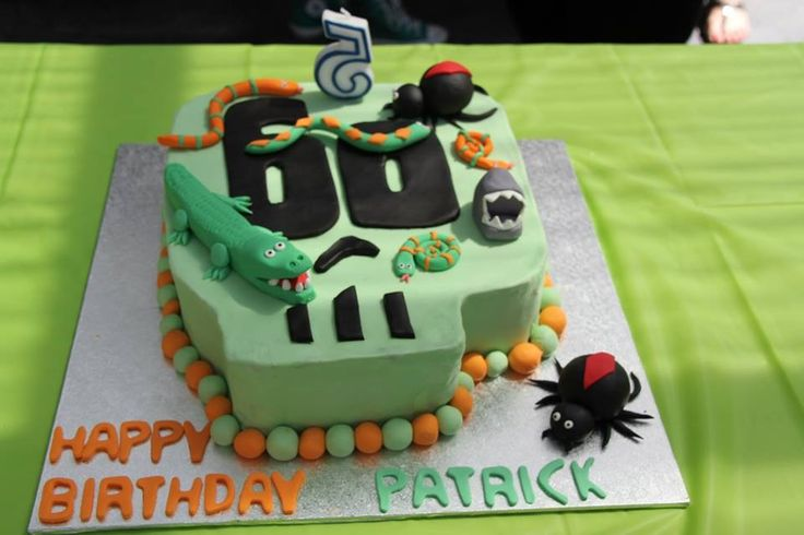 Deadly 60 birthday cake
