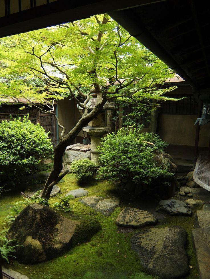 Japanese garden in SUMIYA Shimabara,Kyoto,Japan 2014: