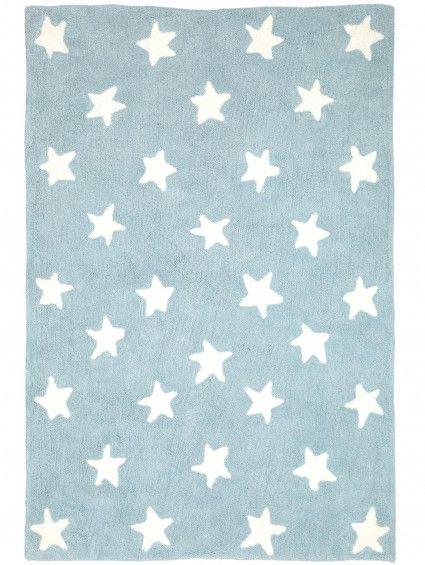 Tapis Enfants Bambini Stars Bleu