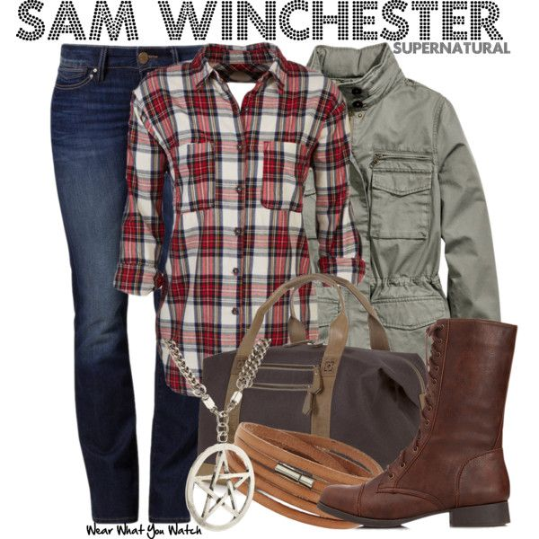 Inspired by Jared Padalecki as Sam Winchester on Supernatural.