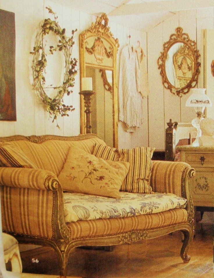 Country French Sofas Living Room Furniture: 64 Best Mixing Upholstery Fabric Images On Pinterest