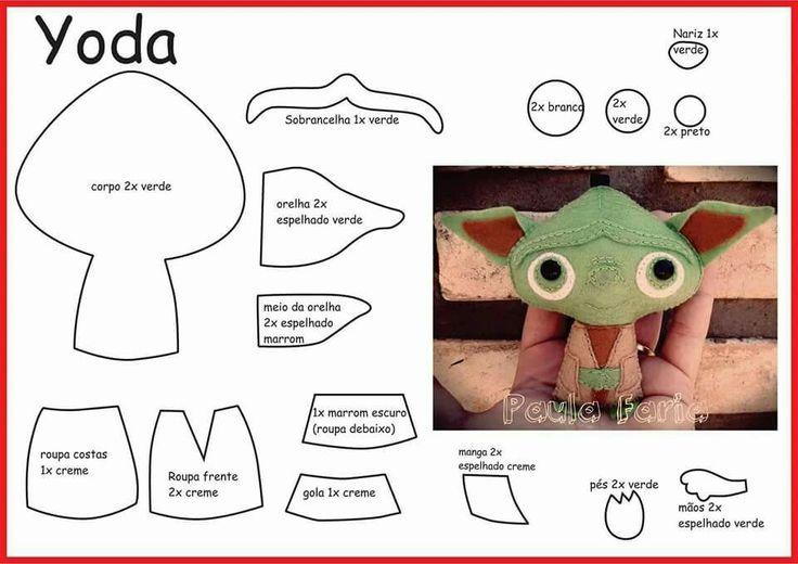 Felt Yoda                                                                                                                                                                                 Mais