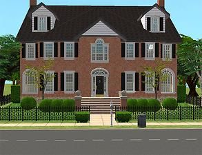 Mod The Sims - Modern Georgian Manor Set