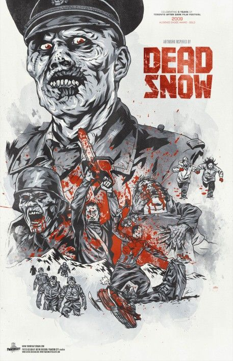 """Dead Snow"" -- hands down the best Norwegian Nazi zombie horror-comedy ever made."