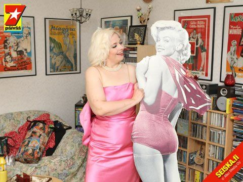 "As ""Marilyn"" in the magazine Seiska in May 2010. (Circulation approx. 1 million)"