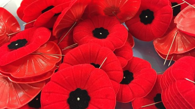 5 things you should know about poppy etiquette for Remembrance Day:  List of things you should know when wearing Remembrance Day poppy (CBC News 10 November 2015)