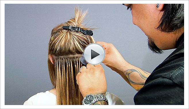 Fusion Hair Extension Video