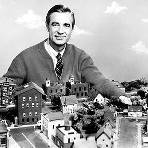 Mister Fred Rogers. Every day I still change out of my work shoes and jacket and think of him. Was not afraid to talk with kids about the difficult subjects. #Childhood