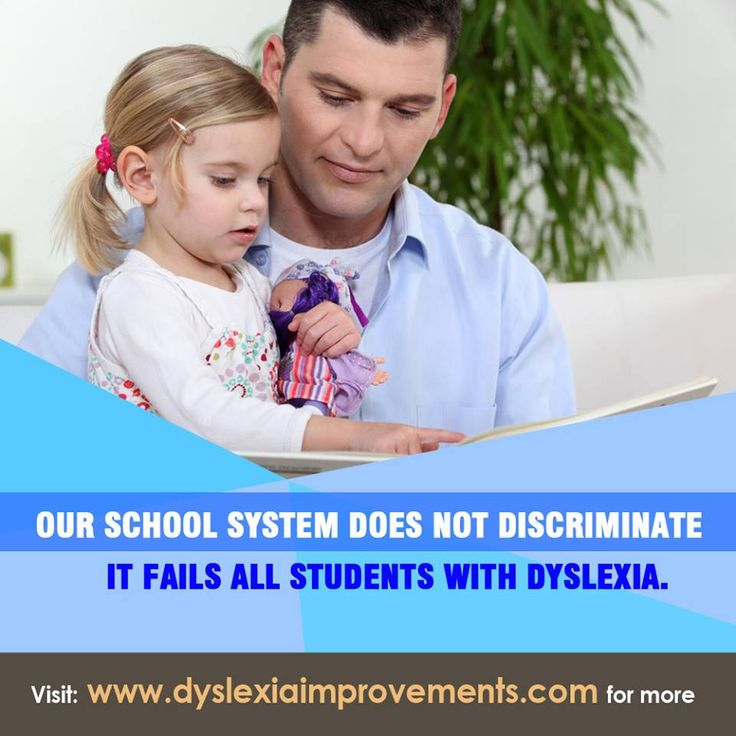Our school system doesn't discriminate. It fails all students with dyslexia. #Dyslexia #schools #help #Learning