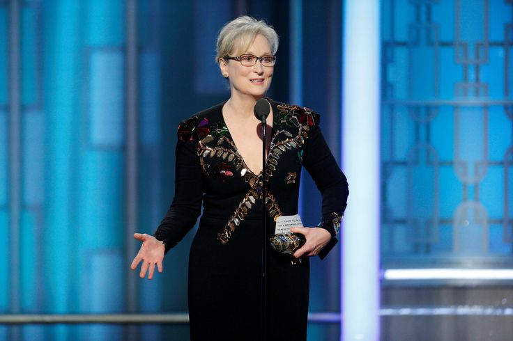Meryl Streep made a strong Anti-Trump speech on the 2017 Golden Globes    Utilizing the Golden Globes, Mery Streep requested her friends to assist shield the liberty of speech and press on Sunday Night time. This was in a method her rant in opposition to probably the most controversial president-elect ever.  It was an emotional speech, Meryl advised Hollywood that - http://newsyork.gq/meryl-streep-made-a-powerful-anti-trump-speech-at-the-2017-golden-globes/