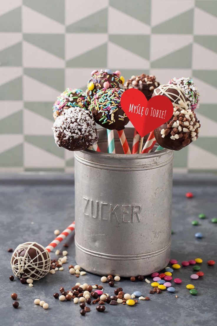 #Cake pops #cakedecorating #cakepops #cakestagram #caketopping #posypka #czekolada #cukierki #sweets