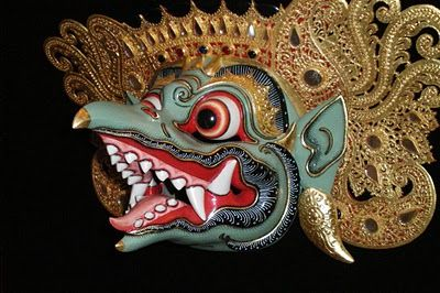 Topeng Garuda Bali Topeng Faces Of Indonesia Wooden Art Arts