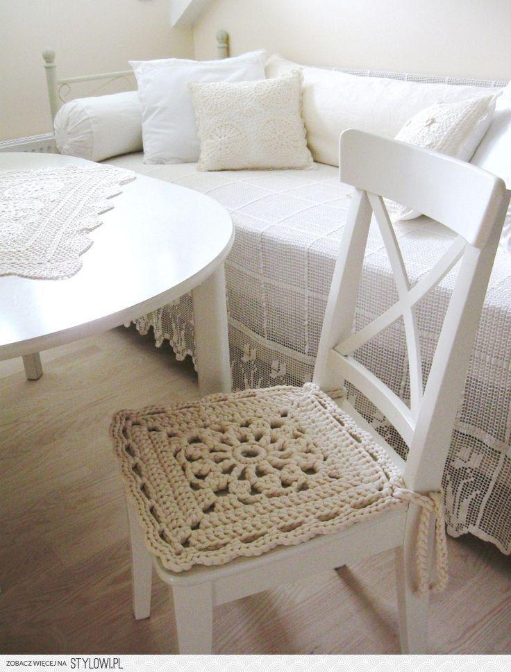 17 mejores ideas sobre cojines para sillas cocina en - Cojines redondos para sillas ...