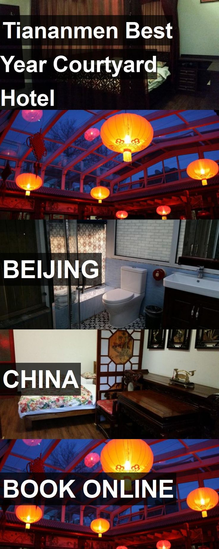 Tiananmen Best Year Courtyard Hotel in Beijing, China. For more information, photos, reviews and best prices please follow the link. #China #Beijing #travel #vacation #hotel