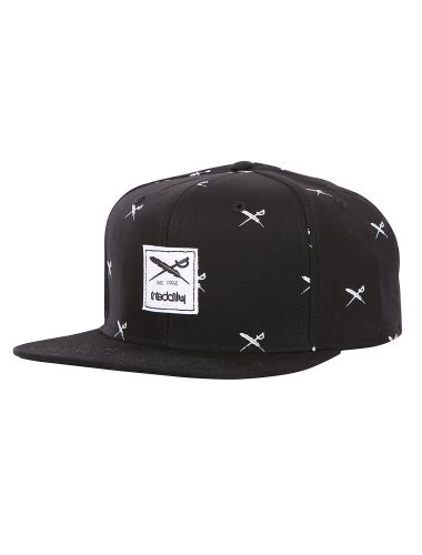Flag X Snapback [black] // IRIEDAILY FALL WINTER 2015 COLLECTION – WE CAN BE HEROES. // OUT NOW: http://www.iriedaily.de/