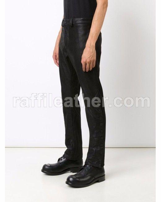 Celana Kulit Pria » Celana Kulit CRF 008 • www.raffileather.com Jual Jaket Kulit Asli Garut Murah & Berkualitas
