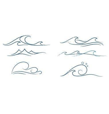 Waves tattoo