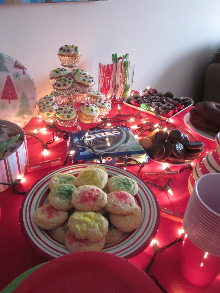 Christmas In July Party Food Ideas Part - 43: Christmas In July Party! OH Yes! With Treats, Games, And Christmas Movies