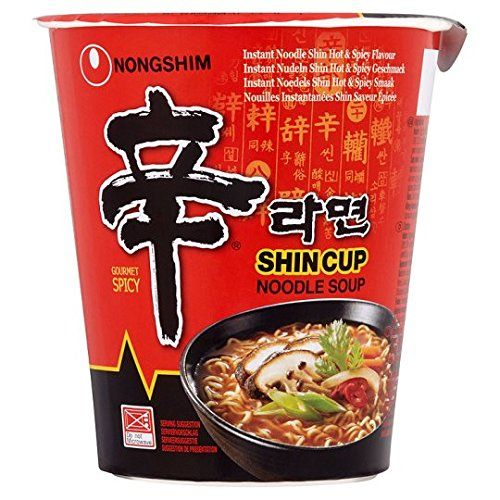Nong Shim Nouilles Instantanées Shin Shin 75 g – Lot de 6: Spécialisée dans les nouilles instantanées et les collations Mélange d'herbes et…