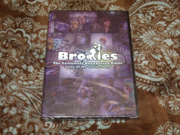 Bronies: Extremely Unexpected Adult Fans of My Little Pony (DVD, 2013) *SEALED!*