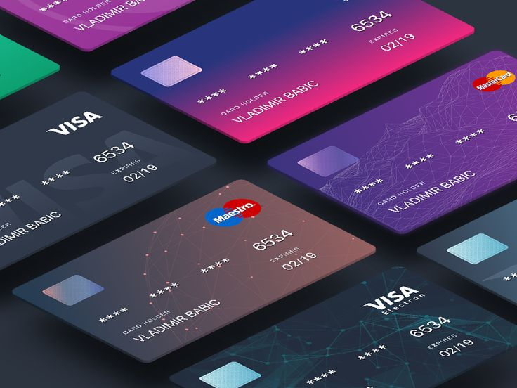 Cards for judopay integration. Check this preview if you need this sexy hologram: https://dribbble.com/shots/1897180-Visa-Card