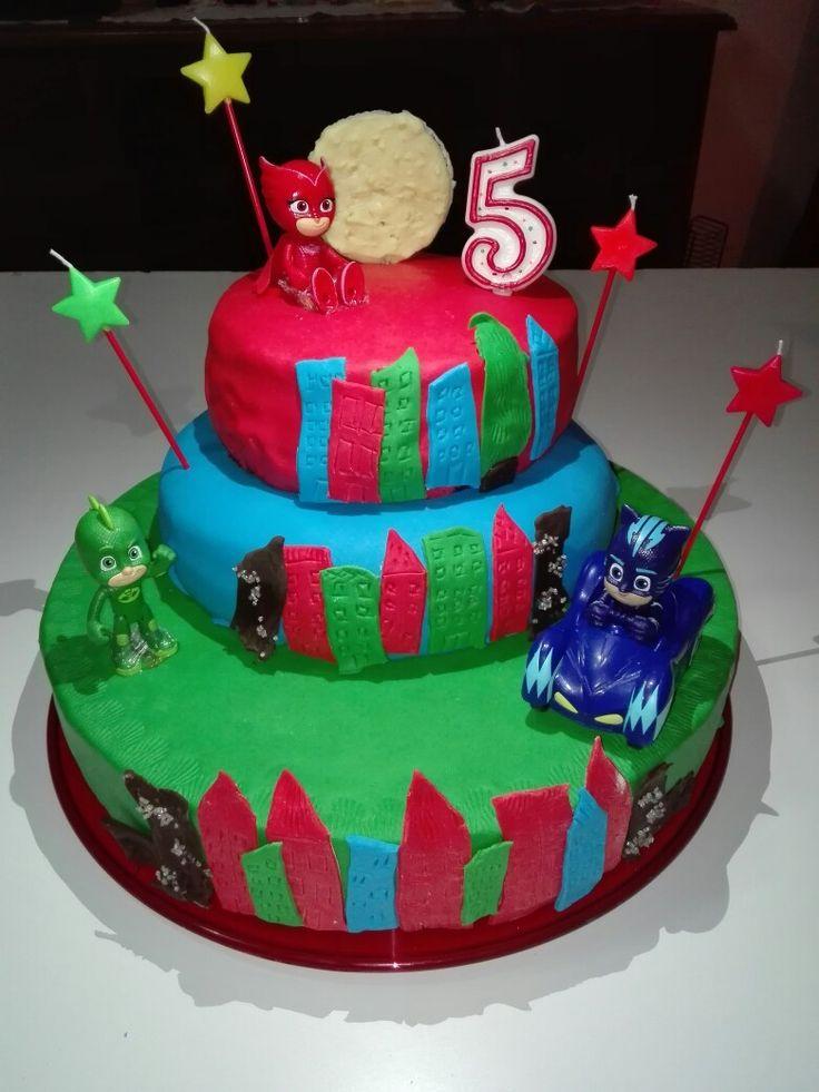 Torta compleanno Super Pigiamini