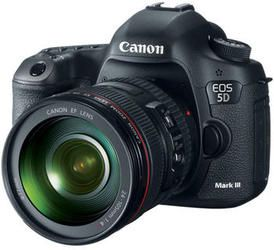 The Canon 5 D Mark III. If you are an amateur photographer wanting to go pro, This is the hardware you need!