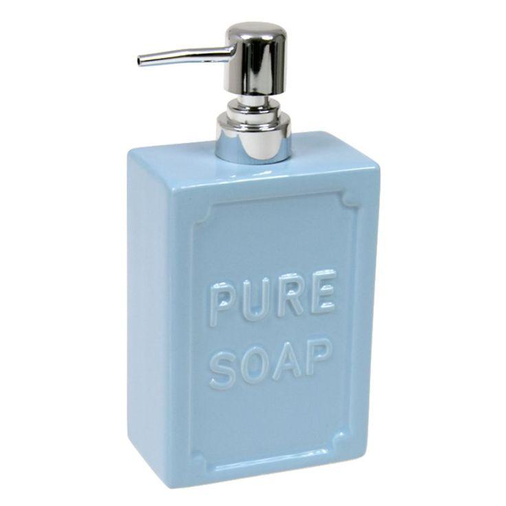 PURE SOAP - niebieski dozownik do mydła w płynie - NieMaJakwDomu / serenity
