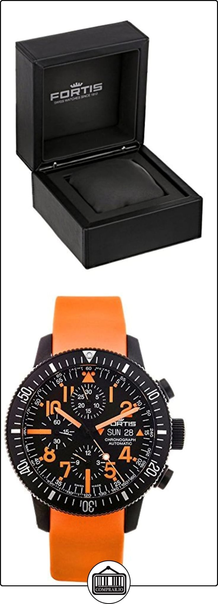Limited Edition Fortis B-42 Black Mars 500 Automatic Chrono Mens Watch Calendar 638.28.13.SI.19 de  ✿ Relojes para hombre - (Lujo) ✿