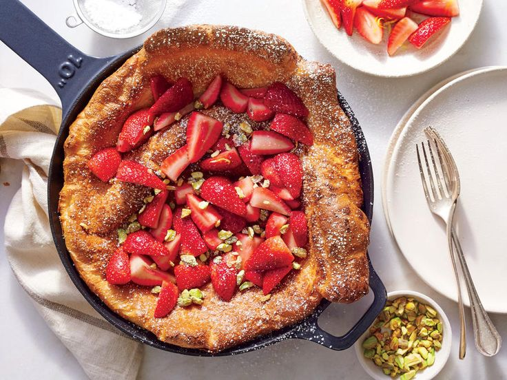 The key to the dish's dramatic puff comes from oven spring—the jolt of heat and steam the batter gets when it's poured into a sizzling ho...