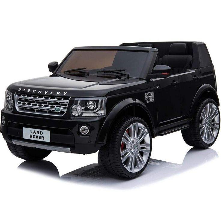 Mini Moto Land Rover Discovery 12v Black (2.4ghz RC