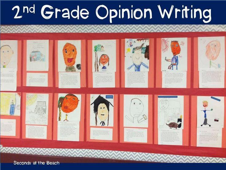 Ideas to teach 2nd grade opinion writing