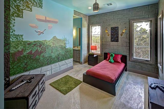 10 Creative Ways Minecraft Bedroom Decor Ideas In Real Life http://ift.tt/2mei8oP Decor Room