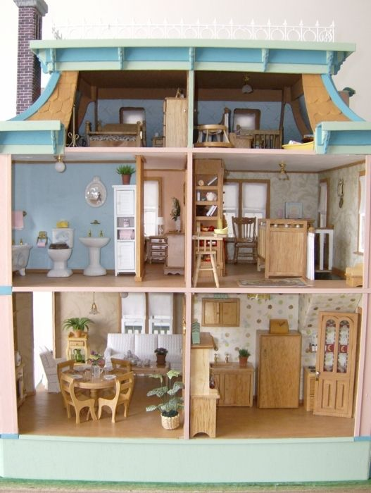 My Crafting Amp Hobby Adventures The Lily Dollhouse Project