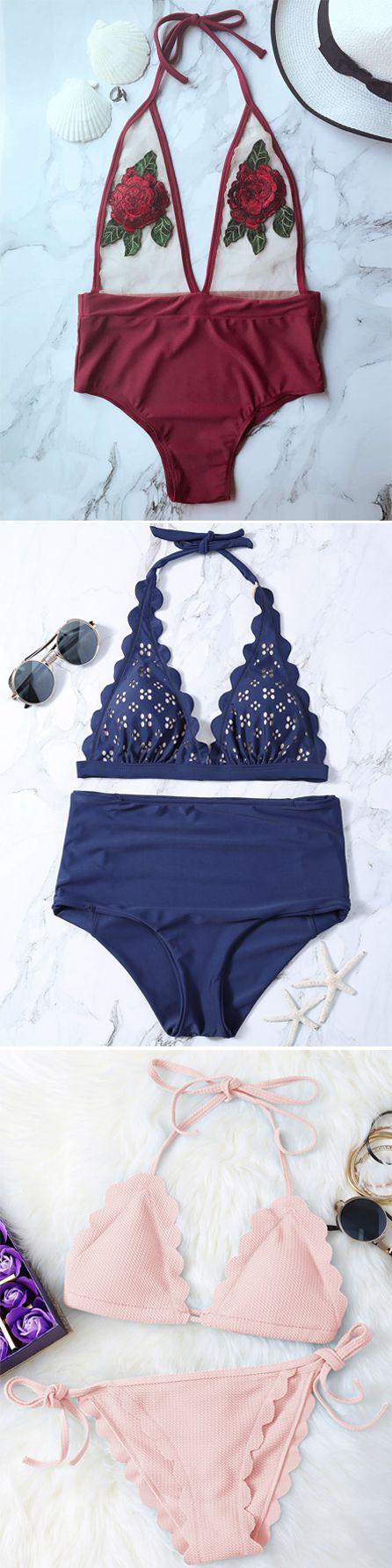 Swimwear in Zaful  swimsuits,bathing suit,bikini,bikini set,one pieces,swimwear 2017,beach outfit,bikinis,beach,beach wear,Hawaii,summer bikinis   #Bikini