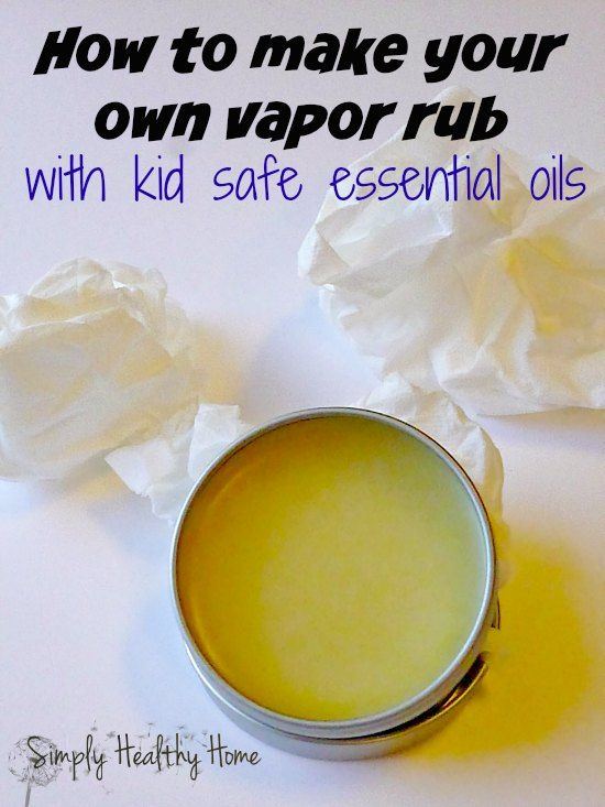 If you are looking for an easy homemade vapor rub that is effective, this is it. Using kid safe essential oils, the sniffles will be a thing of the past!