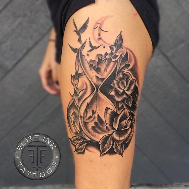 best 25 hourglass tattoo ideas on pinterest hourglass