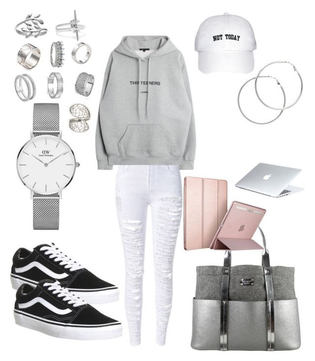 """Goals"" by madisonkiss on Polyvore featuring Vans, Kate Spade, Daniel Wellington, Belk Silverworks, Gucci, Monica Vinader, Noir Jewelry, BillyTheTree, Cartier and Melissa Odabash"