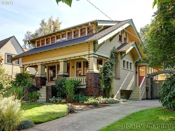 17 best images about historic craftsman bungalow on for Portland craftsman homes