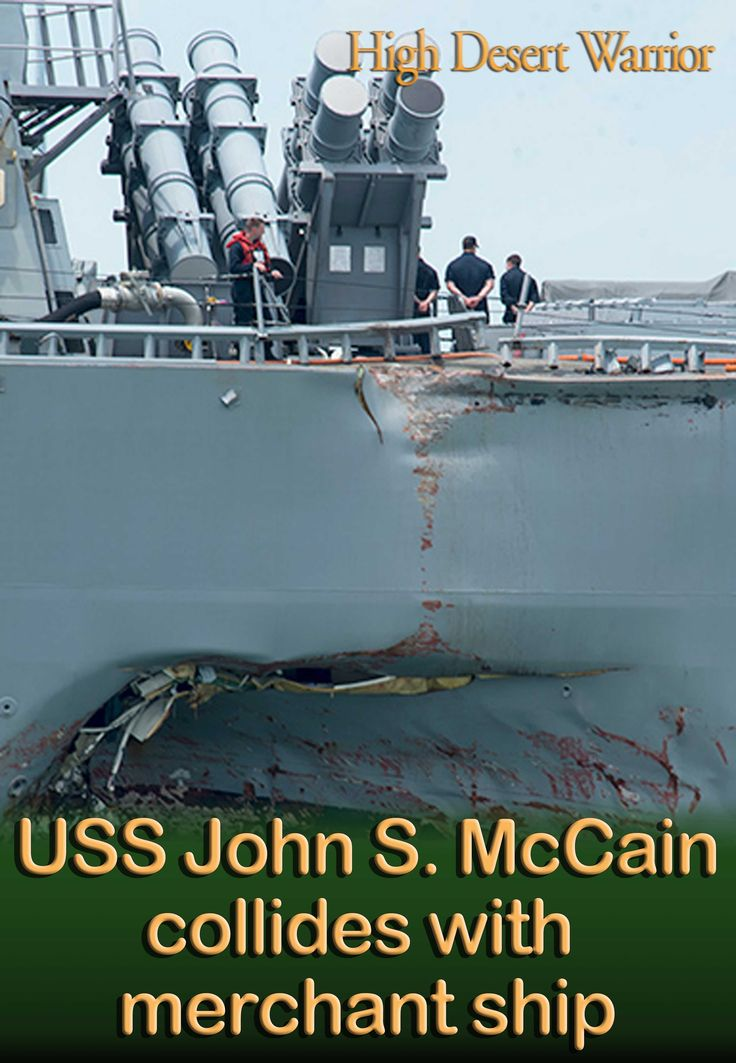 Ship Collision: A family assistance center has been established. Families who do not live on base should call 011-81-46-816-1728 (international); families who live on base should call 315-243-1728 (DSN)...There are currently 10 Sailors missing and five injured. Four of the injured were medically evacuated by a Singapore Armed Forces helicopter to a hospital in Singapore for non-life threatening injuries. The fifth injured Sailor does not require further medical attention.