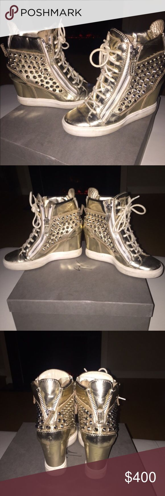 Authentic Giuseppe Zanotti Sneakers Good Condition. Comes with original box. Giuseppe Zanotti Shoes Sneakers