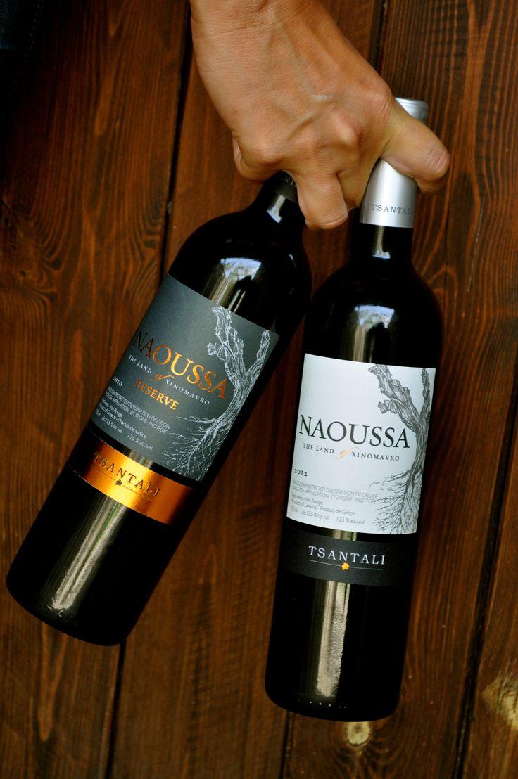 New labels #naoussa #Greek #wines #Tsantali
