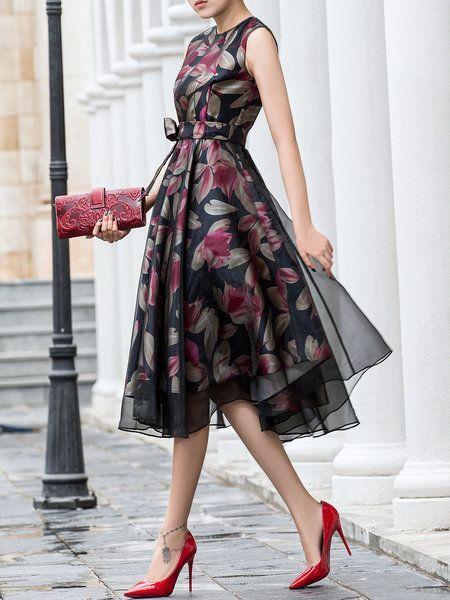 50+ Women's Midi Dresses 7