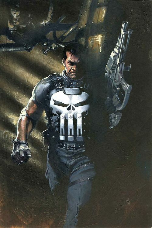 Punisher looks like he's on a seek & destroy mission?!