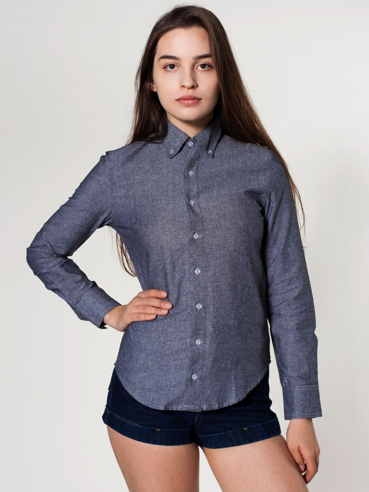 Womens Button Down Collar Shirts Artee Shirt