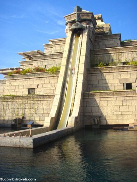 Leap of Faith at Aquaventure at Atlantis the Palm