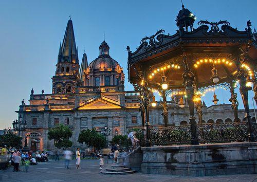 Centro histórico, Guadalajara, Jalisco, México
