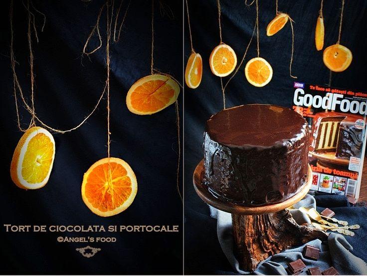 O noua provocare, de data aceasta din partea Good Food.   A aparut in aceasta luna revista Good Food cu o coperta spectaculoasa...sau...