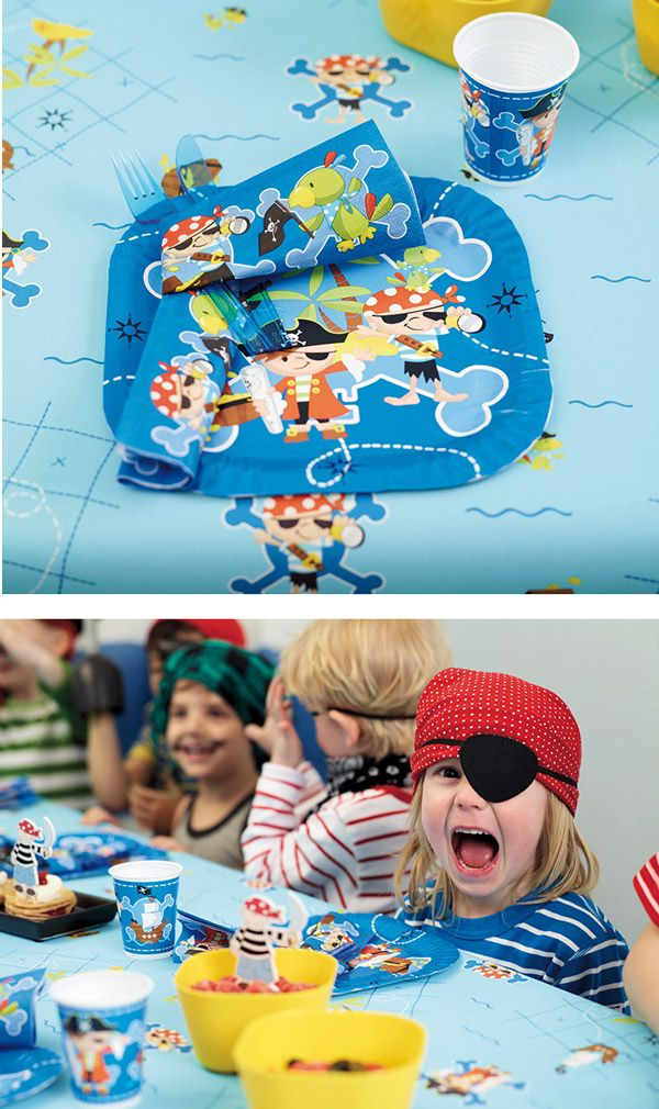 Ahoy! Little pirates ashore! Be prepared for a real Pirate Party Duni